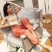 Color glossy pants カラー 光沢 パンツ