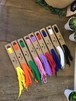 【コンパクトな台紙がいい!】カラーシンプル靴紐