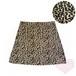 レオパード 台形スカート