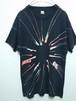 1980's SCREEN STARS ペイントTシャツ USA製 ブラック 表記(L)