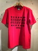 RAKUGAKI STAR OLD ENGLISH Logo T-Shirts RED x BLACK