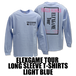 ELEXGAME TOUR LONG SLEEVE T-SHIRTS[LIGHT BLUE]