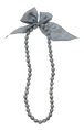 リボンネックレス(gray)