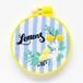 『レモンとオリーブ』刺繍枠キット