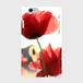 スマホケース(赤いポピー)