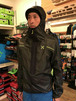 MONTURA / Flyaway Anorak / black with lime green logo / M
