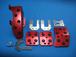 ジムニーR19ラバーペダル&フットレスト赤(レッド)4点セット『MT用』【SJ30・JA71・JA11・JA12・JA22JB23・JB31・JB32・JB33・JB43】
