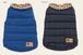 犬服(ドッグウェア)Can Nana ダウンジャケット ブルー