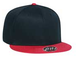 002 CAPサイドロゴ レッド・ブラック