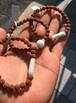 糸魚川翡翠 管玉(12mm玉)+ウランガラスビーズ ブレスレット 菩提樹
