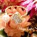 お花のフォークリング