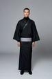 きもの / 十日町紬 / 細縞 / Black(With tailoring)
