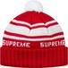 Supreme Classic Stripe Beanie Knit Cap