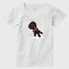 空飛ぶショコラ レディースTシャツ 白