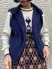 (TOYO) low gauge knit vest