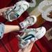 ダッドスニーカー メッシュ ラインストーン 韓国ファッション レディース スニーカー ラメ スパンコール ダッドシューズ シューズ ボリュームスニーカー スポーツ カジュアル かわいい 歩きやすい 595950251850