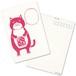【ポストカード】ネコおっさん ポテチ