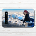 #080-047 モバイルバッテリー おすすめ iPhone Android かわいい おしゃれ 男性 向け ファンタジー SF スマホ 充電器 タイトル:空中散歩 パターン2 作:星宮あき