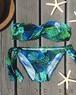 〈再入荷〉Twist bandeau bikini~パームリーフ~