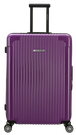 Lサイズ☆ポートランド紫PDX・90リットル:超軽量!旅ガールにオススメスーツケース