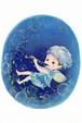 PCS009 「クラリネットを吹く妖精」ポストカード12枚セット