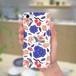 スマホケース(iPhone & Android)お花 / 色:ブルー