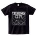 TSUBOMIN / BANDANA TSUBOMIN CITY T-SHIRT BLACK