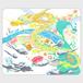 龍と貴人手帳型スマホケース Android