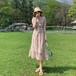 【dress】人気を独占中 一目惚れ清新人気 デザインスウィート花柄ワンピース