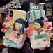 original 韓国風 iphone8 plus人気カバー 可愛い 女子 個性 イラスト オリジナル 薄型 アイフォンXケース 芸能人愛用 放熱機能