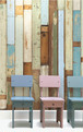 【NLXL】 PIET HEIN EEK  scrap wood wallpaper  PHE-03