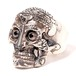 RUDE GALLERY  TIBETAN MONK SKULL RING