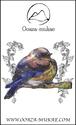 ブローチ - Oiseau sur sa branche