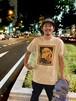 """Ahoka From Osaka Tshirts 2015 """"Treevisions collabo"""" Sand"""