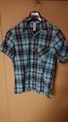 SALAM LIVING 半袖チェックシャツ Sサイズ