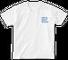 """Tシャツ """"SUMMER POP"""" WHITE×LIGHT BLUE"""