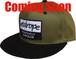【WOB Snapback Cap】khaki/black