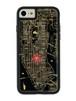 FLASH NY回路地図 iPhone7/8 ケース 黒【東京回路線図A5クリアファイルをプレゼント】