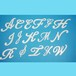 アルファベット38ミリ(ビューティー)【ユリシス・デコシート】
