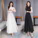 【dress】エレガント気質満点着瘦せデートワンピース人気デザインゆったり3色