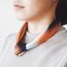 La スカーフ 琥珀色の余韻 53cm