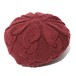 CABLE KNIT BERET (BURGUNDY) / RUDE GALLERY