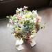 野の花を摘んだようなカラフルな小花のブーケ&ブートニア