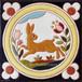 絵タイル:ATCC-007(クラシカルスタイル ウサギ)