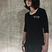 THEE OLD CIRCUS コラボTシャツ(七部袖・ブラック)
