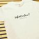 かとすいオリジナルTシャツ (半袖Uネック/ホワイト)