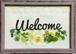 押し花メッセージアート【welcome】