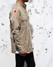 """M-46 STAND-UP"" 1950's U.S.ARMY M-46 COTTON KHAKI SHIRT size:S"