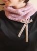 帽子、ときどきネックウォーマー(針あり)【編み物キット】