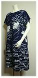134 2種類の浴衣リメイクサックドレス